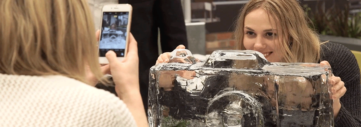 Shaping Ice